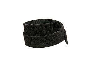 Oboustranný suchý zip Solarix,šířka 10mm,25m,černý