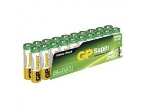GP SUPER ALKALINE BATTERY AAA (LR03) - 20KS