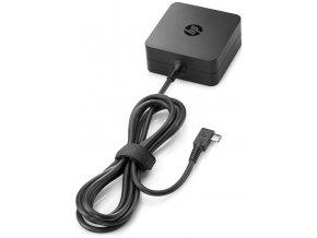 HP 65W USB C Power Adapter 0b