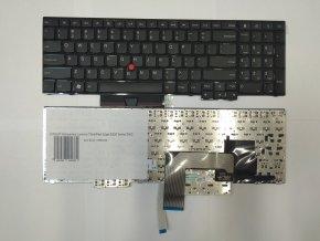 NTSUP Klávesnice Lenovo ThinkPad Edge E530 černá ENG