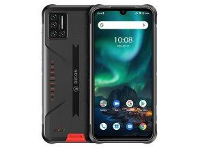 "Umidigi Bison Orange odolný telefon, 6,3"" FHD+, 6GB + 128GB, IP68, IP69K, 48 Mpx Sony, Android 11"