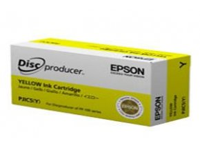 EPSON Ink Cartridge for Discproducer, Yellow