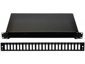 "OPTIX 19"" Optická vana 24xSCD černá aretace plastovým klipem"
