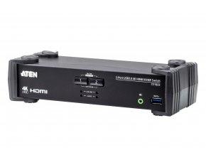 ATEN 2-port USB3.0 4K HDMI KVMP, audio Výrobce