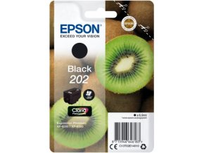 EPSON ink černá 202 Premium - singlepack 6,9ml, 250s, standard