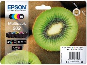 EPSON multipack 5 barev,202 Premium Ink,standard