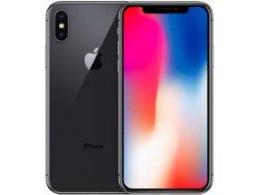 Apple iPhone X (Barva Černá, Kapacita 256GB, Stav B stav - nefunkční Apple ID)