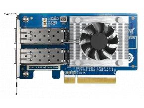 QNAP QXG-25G2SF-CX6 - 25GbE (2porty) PCIe karta; nízký profil; PCIe Gen4 x8