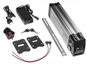 69965 6 baterie 36v 11ah 396wh pro e bike elektrokolo silverfish