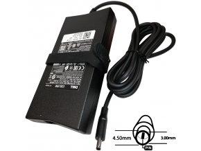 Napájecí adaptér 130W, 19,5V 4.5x3.0mm, originál DELL