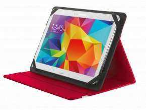 """TRUST Primo Folio Case with Stand for 10"""" tablets - red"""