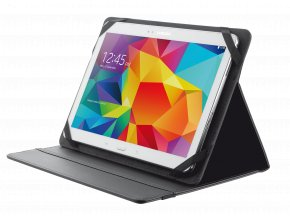 """TRUST Primo Folio Case with Stand for 10"""" tablets - black"""