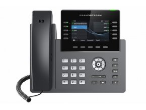 "Grandstream GRP2615 SIP telefon, 4.3"" TFT bar. displej, 5 SIP účtů, 10 prog. tl., 2x1Gb, WiFi, BT"