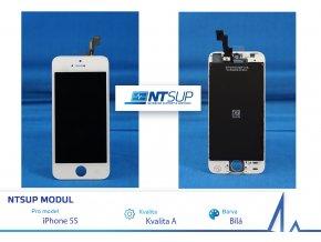 NTSUP LCD modul iPhone 5S bílý kvalita A