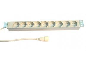 PDU 7x230V,1U,19'', 1x16A IEC320 C20