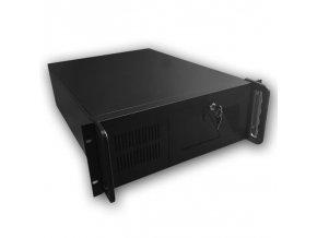 "DATACOM 19"" Case IPC 4U/585mm Černý bez PSU"