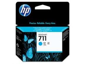 HP no 711 - azurová inkoustová kazeta, CZ130A
