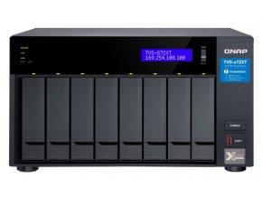 QNAP TVS-872XT-i5-16G (3,3GHz / 16GB RAM / 8xSATA / 2xM.2 NVMe slot / 1x HDMI 4K / 2x Thunderbolt 3)