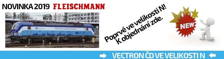 Fleischmann Vectron v N ČD