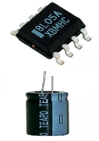 Elektronika součástky