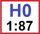velikost HO 1:87