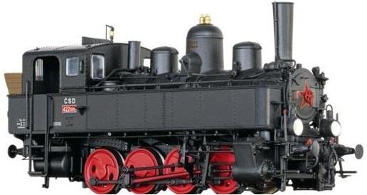 H0 - Parní lokomotivy