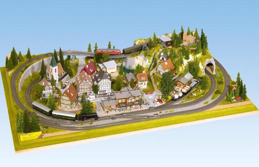 Kolejiště a moduly