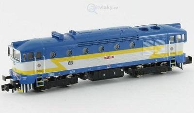 N - Dieselové lokomotivy