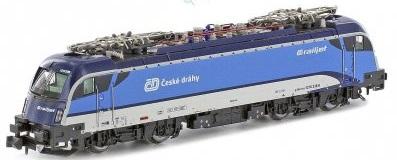 N - Elektrické lokomotivy