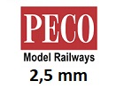 PECO bez podloží 2,5 mm H0
