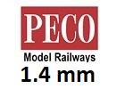 PECO N Code 55 výška 1,4mm