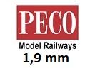 PECO bez podloží 1,9 mm H0