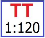 TT 1:120