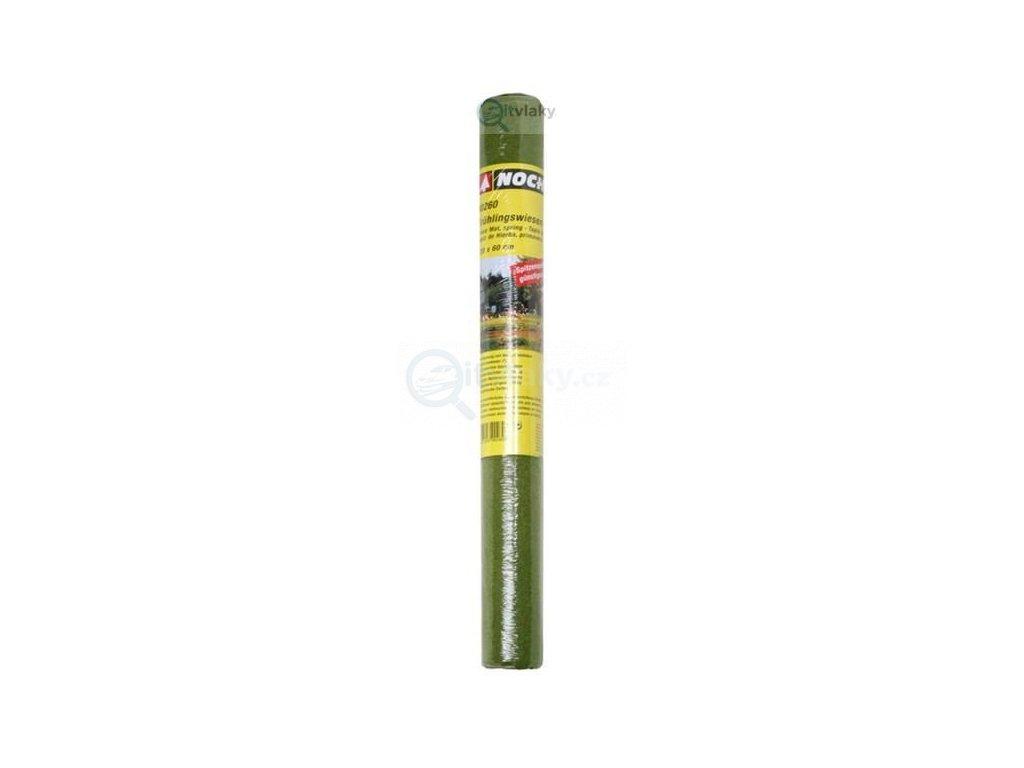 Travní koberec - jarní louka  300 x 100 cm,  výška 2,5 mm / NOCH 00020