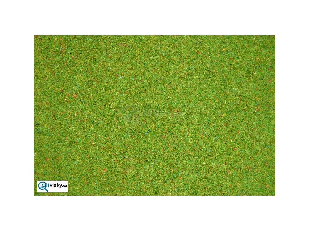 Travní koberec - květinová louka 120x60cm / NOCH 00270