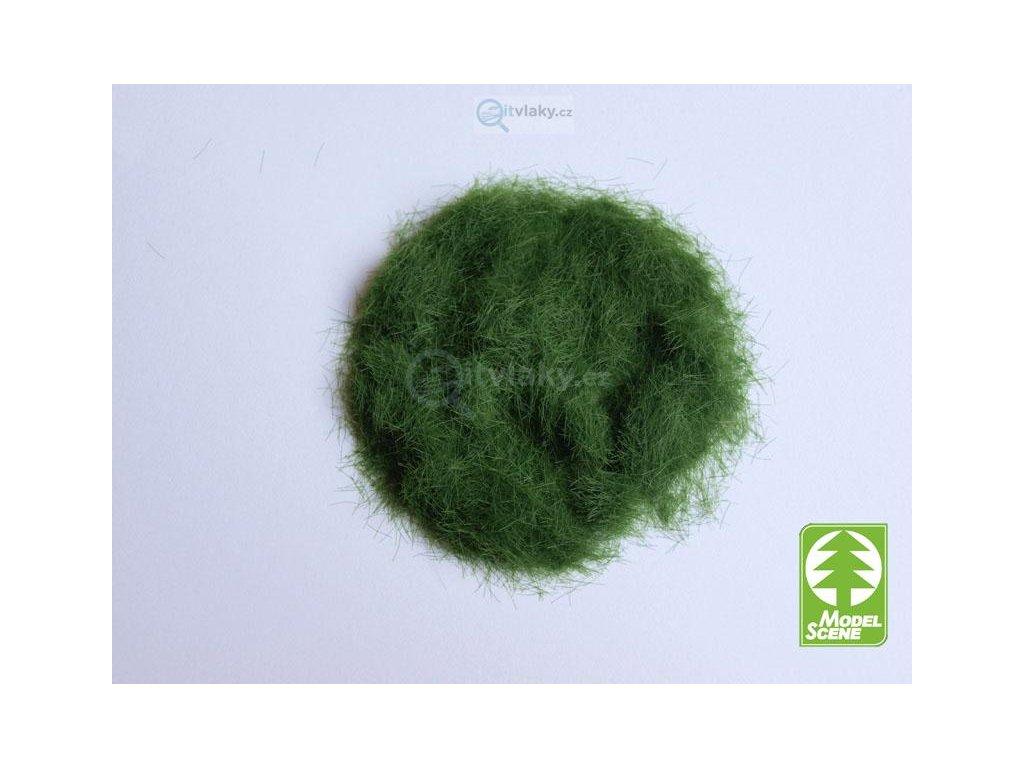 Statická tráva 4,5 mm, zelená, 50g / Model Scene 004-02