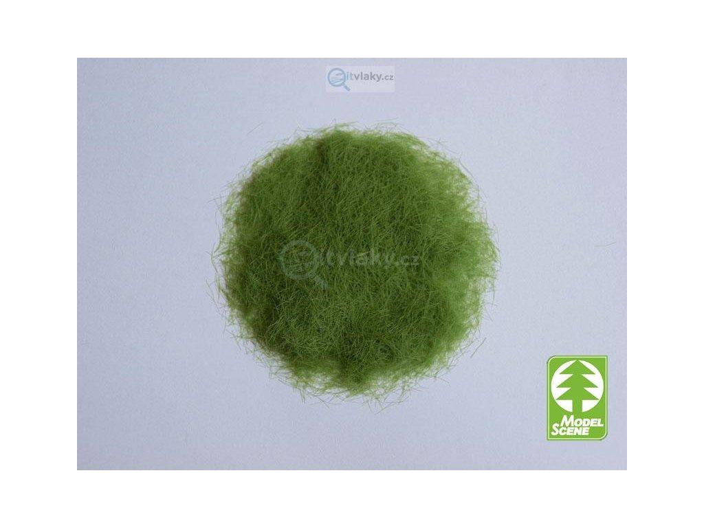 Statická tráva 6,5 mm, jarní, 50g / Model Scene 006-01