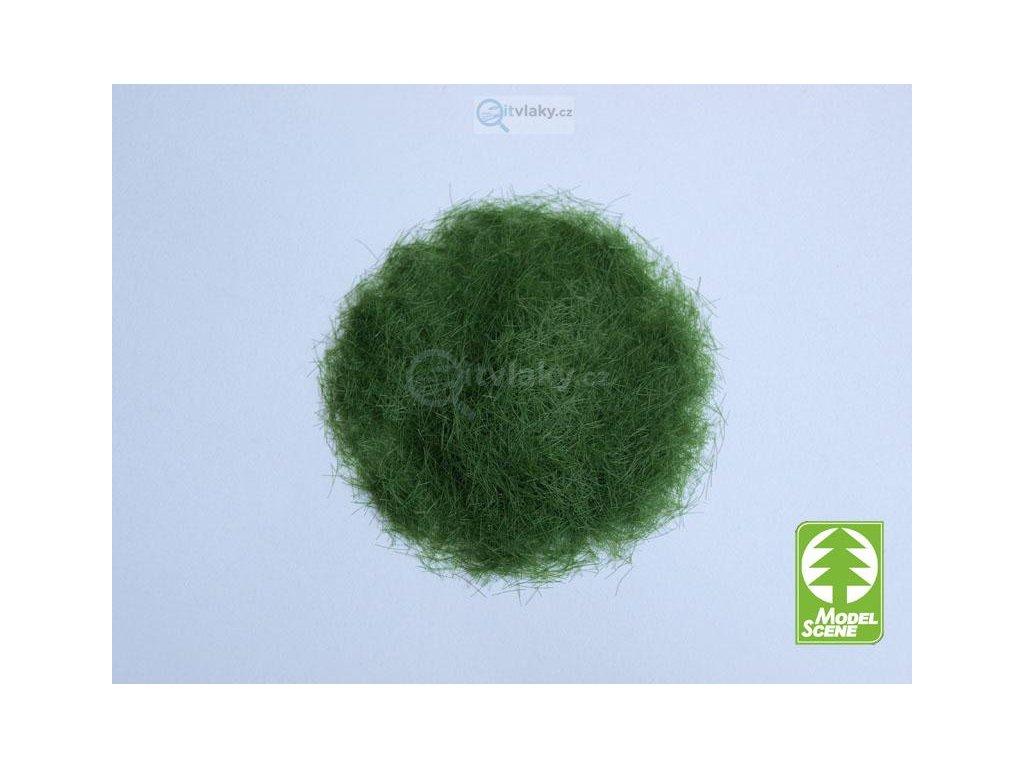 Statická tráva 6,5 mm, zelená, 50g / Model Scene 006-02