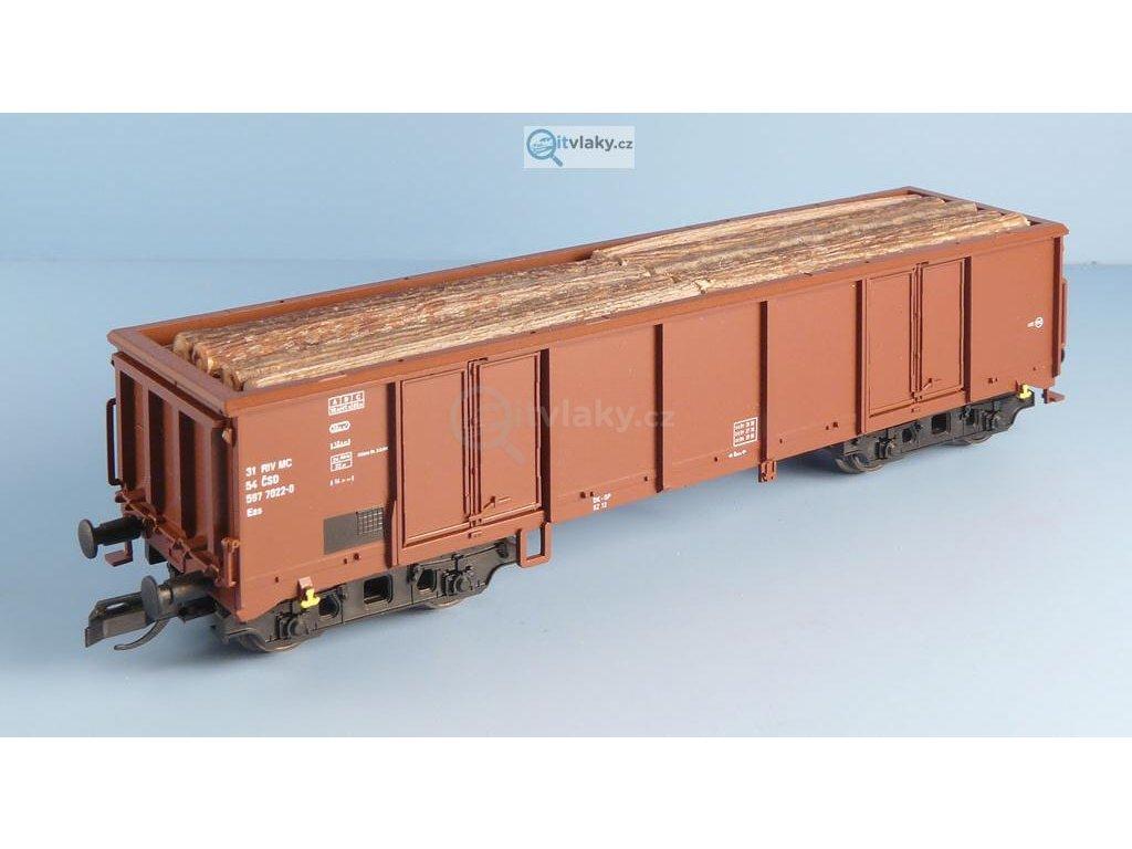 TT - Náklad klády podélně 2 řady Eas Tillig / Veramo 010104