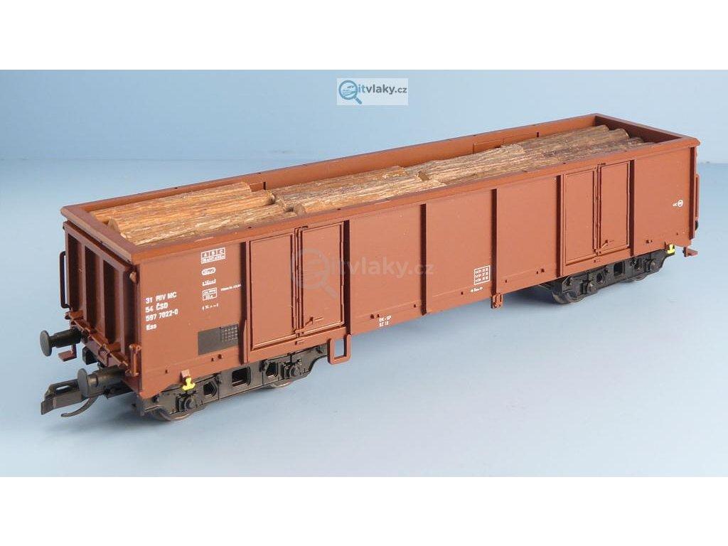 TT - Náklad klády podélně 4 řady Eas Tillig / Veramo 010106