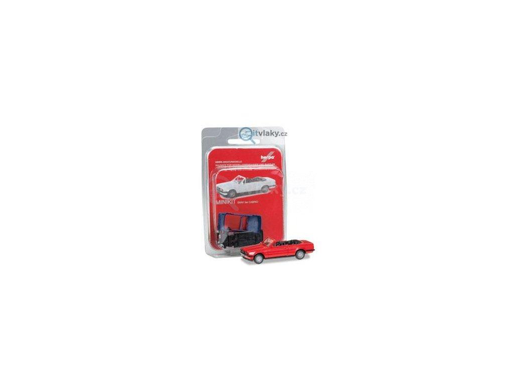 230521 h0 minikit bmw 3 convertible cervene stavebnice herpa 012225 005