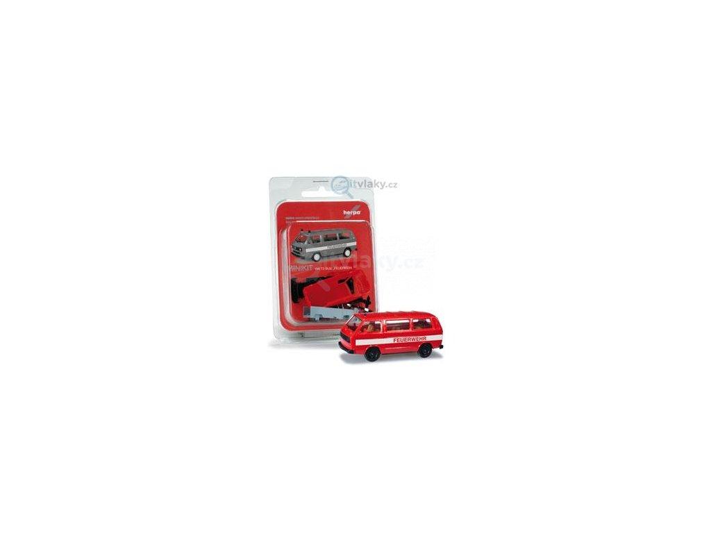 230545 h0 minikit vw t3 bus hasicske auto herpa 012591