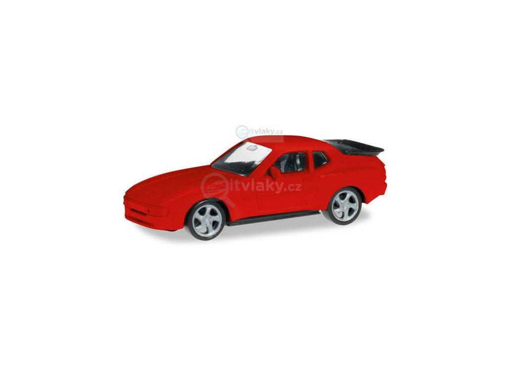 H0 - MiniKit: Porsche 944, červené / Herpa 012768