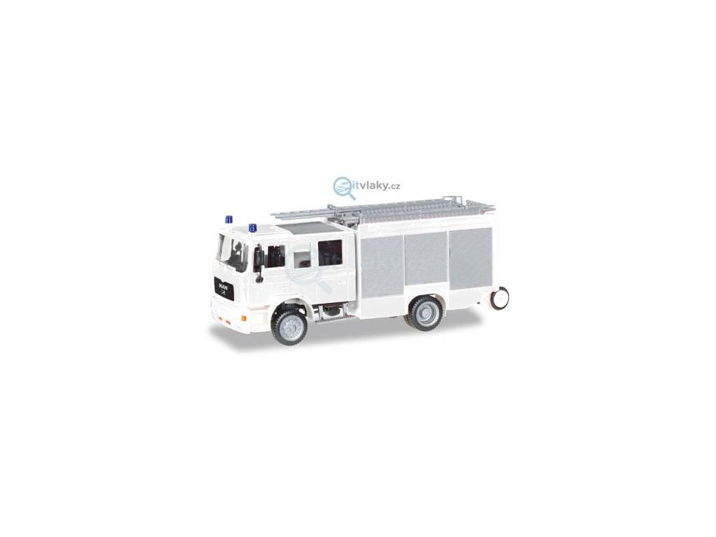 """H0 - MAN M2000 fire truck HLF 20 """"fire department"""" / HERPA 012898"""