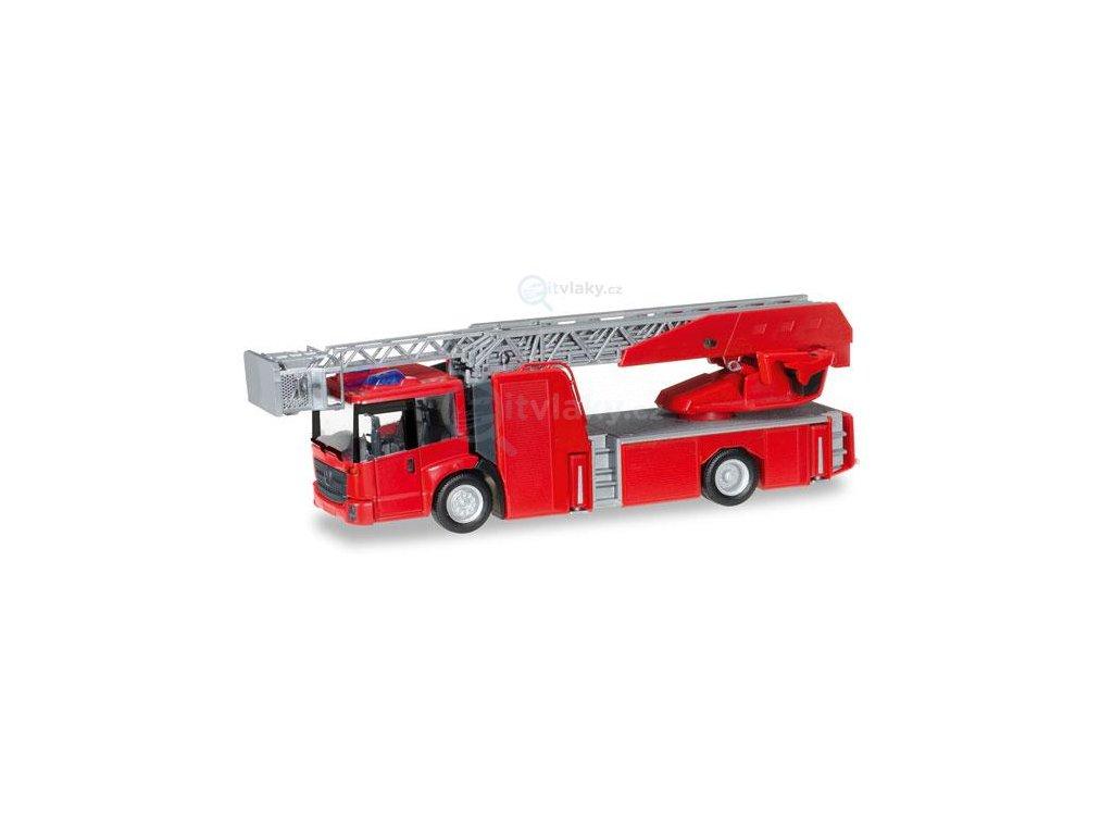 H0 - Minikit: Mercedes-Benz s plošinou / Herpa 013017