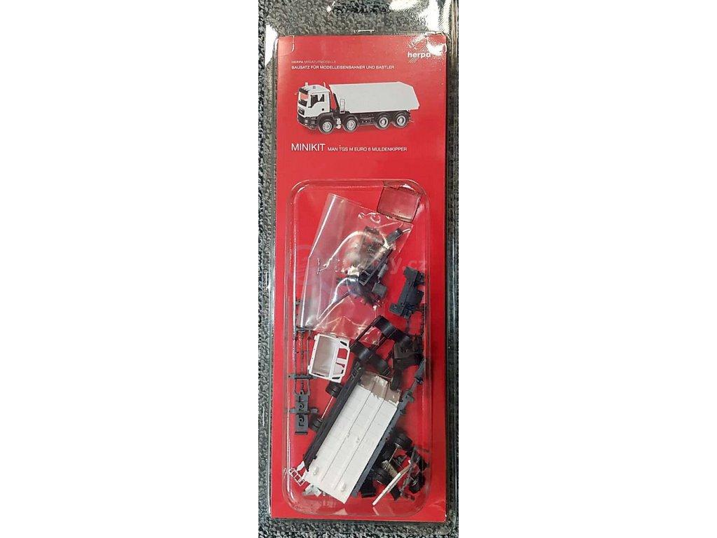 H0 - MAN TGS M Euro 6 Muldenkipper / Herpa 013024