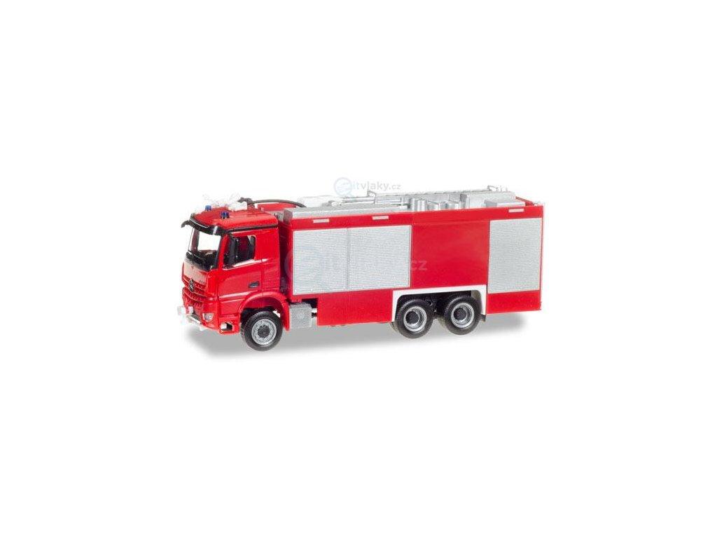 H0 - Minikit hasiči Mercedes-Benz Arocs S Empl ULF / Herpa 013055