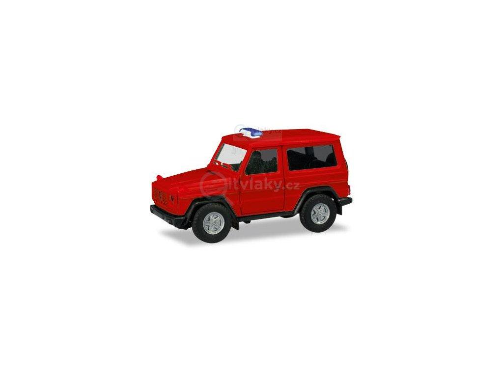 230623 h0 minikit mercedes benz g modell cerveny herpa 013086