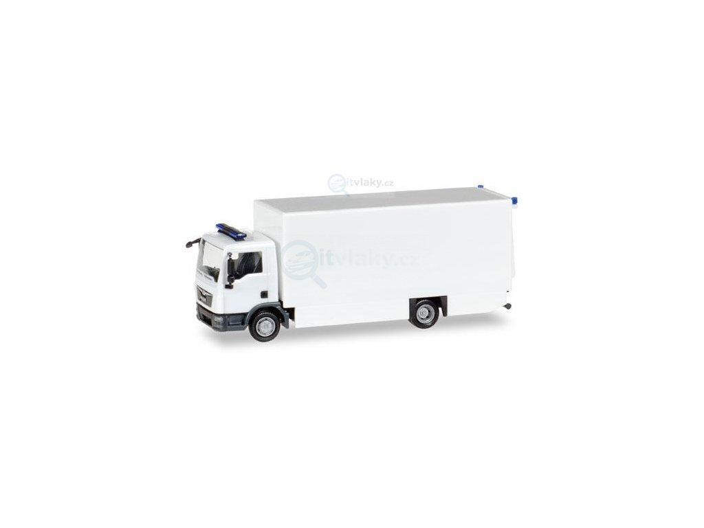 230635 h0 minikit man tgl box truck bile herpa 013123