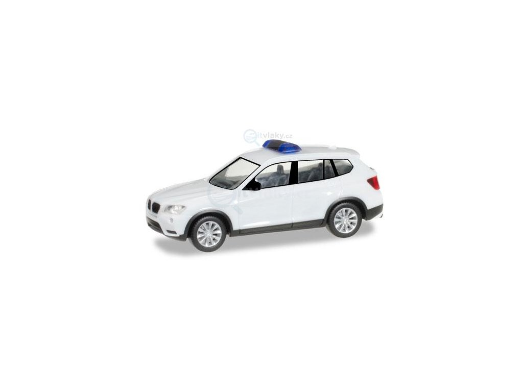 H0 - MiniKit: BMW X3, bílé / Herpa 013130